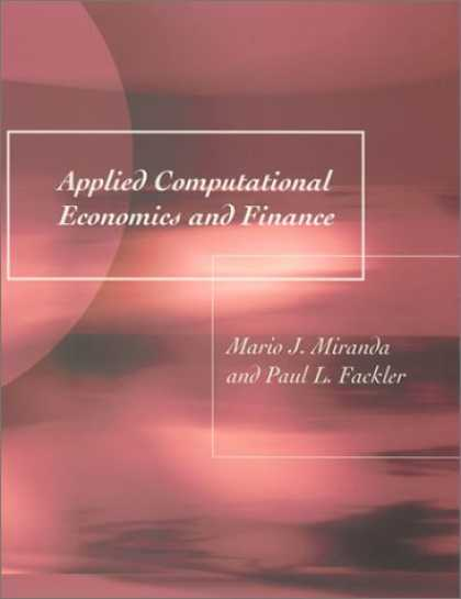 Economics Books - Applied Computational Economics and Finance