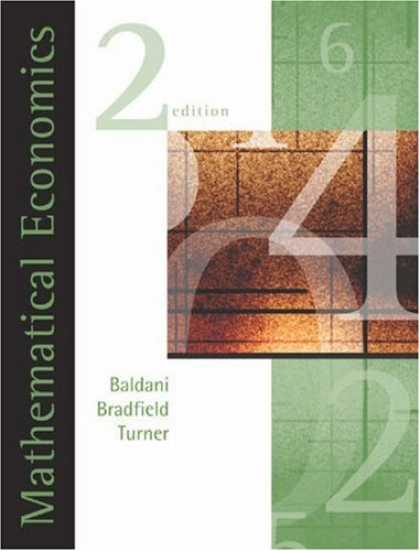 Economics Books - Mathematical Economics