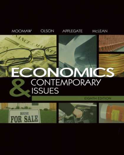 Economics Books - Economics and Contemporary Issues (with InfoTrac College Edition 2-Semester and