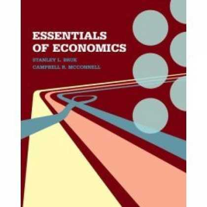 Economics Books - Essentials of Economics By Brue [Economy Edition]