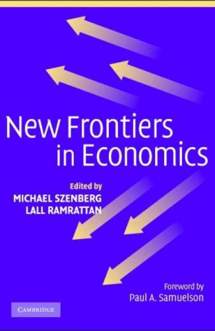 Economics Books - New Frontiers in Economics