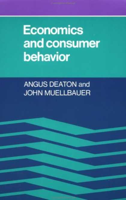 Economics Books - Economics and Consumer Behavior