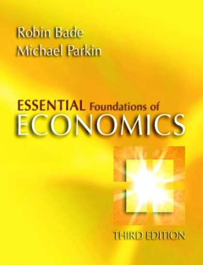 Economics Books - Essential Foundations of Economics plus MyEconLab plus eBook 1-semester Student