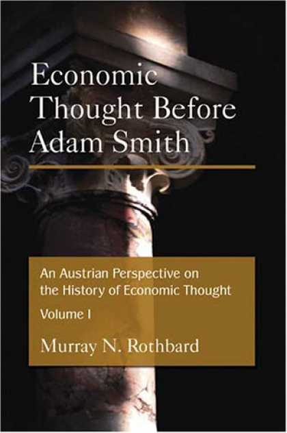 Economics Books - An Austrian Perspective on the History of Economic Thought (2 Vol. Set)