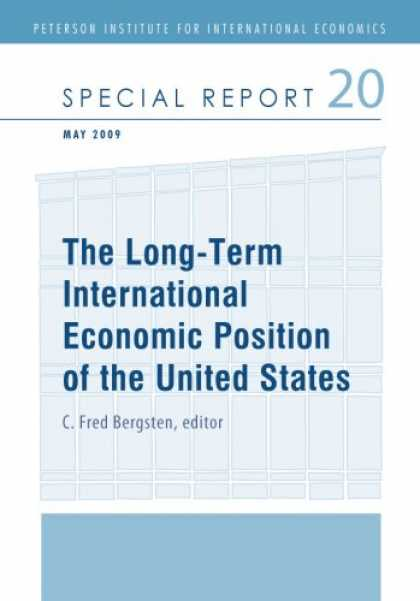 Economics Books - The Long-Term International Economic Position of the United States (Peterson Ins