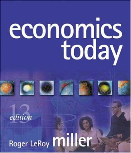 Economics Books - Economics Today (13th Edition) (Addison-Wesley Series in Economics)
