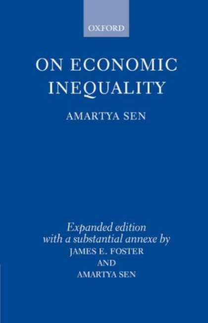 Economics Books - On Economic Inequality (Radcliffe Lectures)
