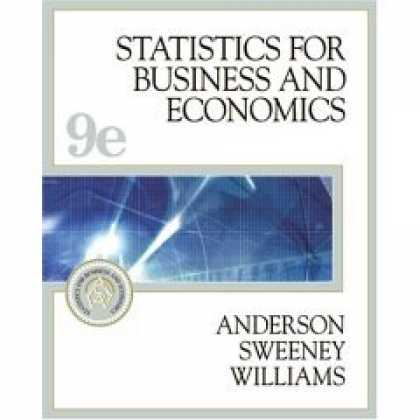 Economics Books - Statistics for Business and Economics- Text Only