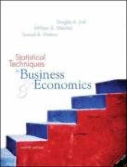 Economics Books - Statistical Techniques in Business and Economics with Student CD-Rom Mandatory P