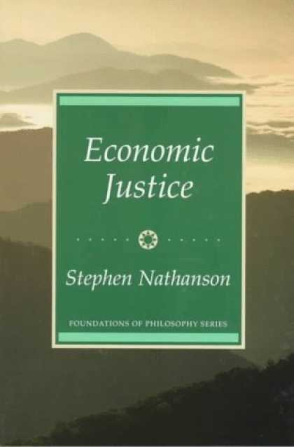 Economics Books - Economic Justice (Foundations of Philosophy)