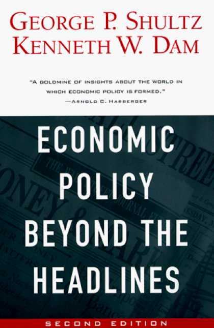 Economics Books - Economic Policy Beyond the Headlines