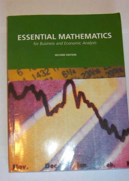 Economics Books - Essential Mathematics for Business and Economic Analysis