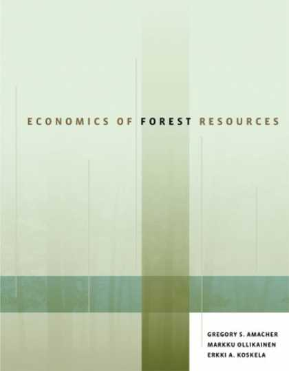 Economics Books - Economics of Forest Resources