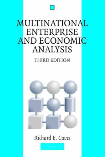Economics Books - Multinational Enterprise and Economic Analysis (Cambridge Surveys of Economic Li