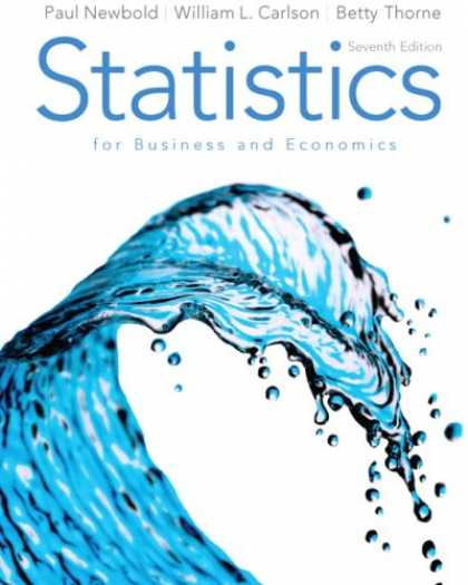 Economics Books - Statistics for Business and Economics (7th Edition)