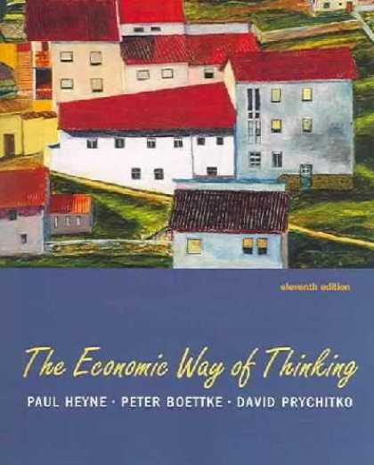 Economics Books - The Economic Way Of Thinking