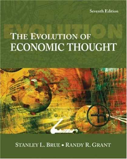 Economics Books - The Evolution of Economic Thought (with InfoTrac 1-Semester, Economic Applicati