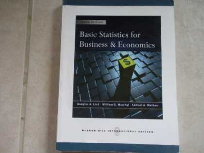 Economics Books - Basic Statistics for Business and Economics with Student CD 6th International Ed