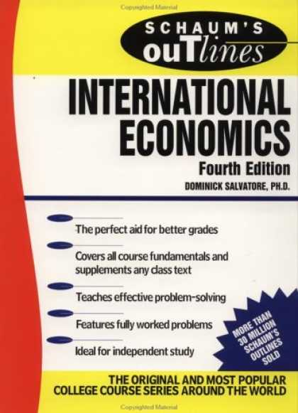 Economics Books - Schaum's Outline of International Economics