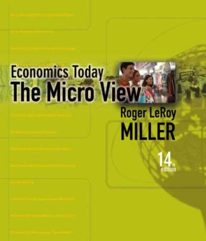 Economics Books - Economics Today: The Micro View plus MyEconLab plus eBook 1-semester Student Acc