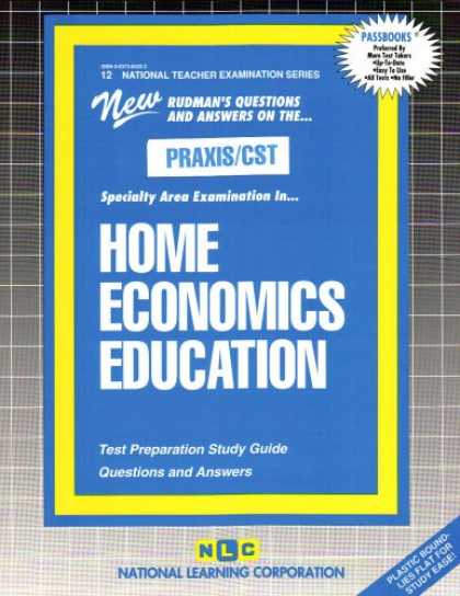 Economics Books - PRAXIS/CST Home Economics Education (Family Consumer Science) (National Teacher
