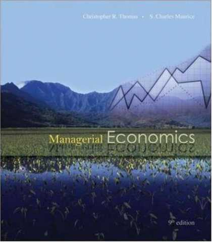 Economics Books - Managerial Economics with Student CD
