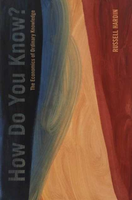 Economics Books - How Do You Know?: The Economics of Ordinary Knowledge