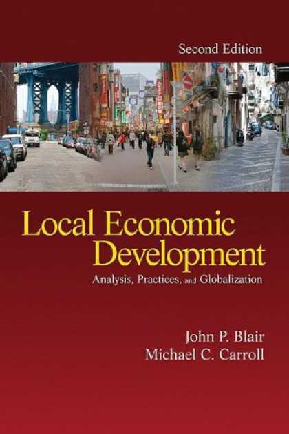Economics Books - Local Economic Development: Analysis, Practices, and Globalization