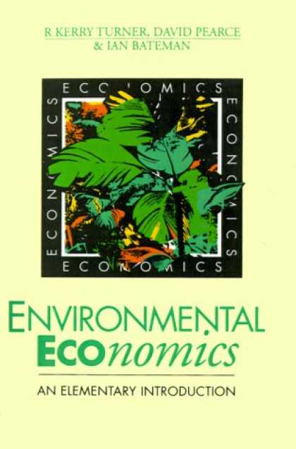 Economics Books - Environmental Economics: An Elementary Introduction