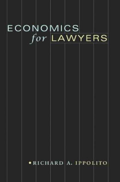 Economics Books - Economics for Lawyers