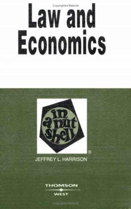 Economics Books - Law and Economics in a Nutshell (Nutshell Series)