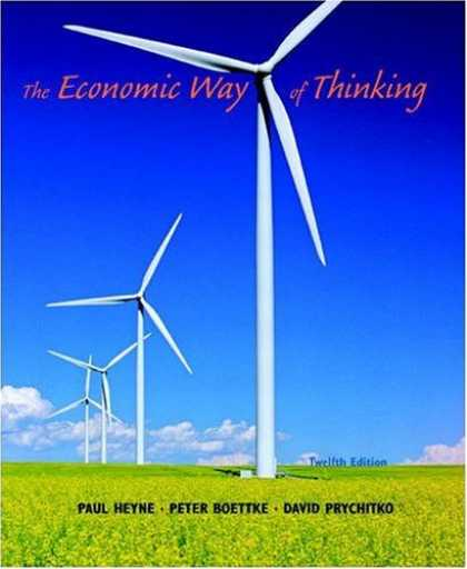 Economics Books - Economic Way of Thinking, The (12th Edition)