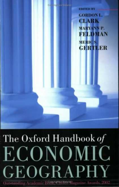 Economics Books - The Oxford Handbook of Economic Geography (Oxford Handbooks)