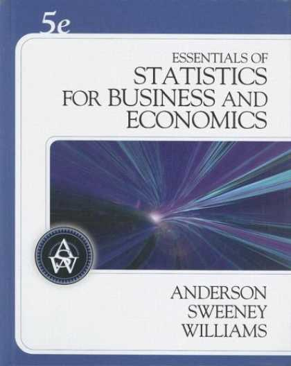 Economics Books - Essentials of Statistics for Business and Economics (with CD-ROM)