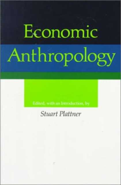 Economics Books - Economic Anthropology