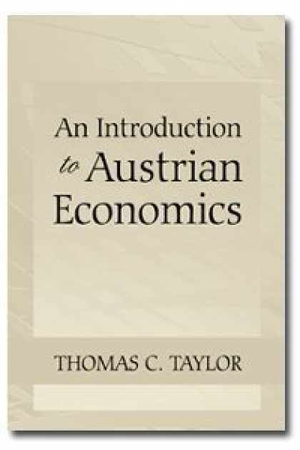 Economics Books - An Introduction to Austrian Economics