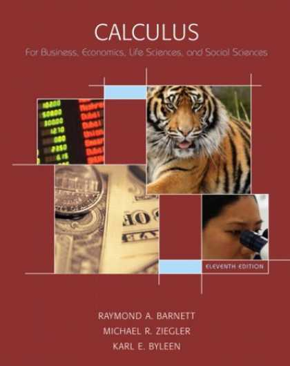 Economics Books - Calculus for Business, Economics, Life Sciences & Social Sciences (11th Edition)