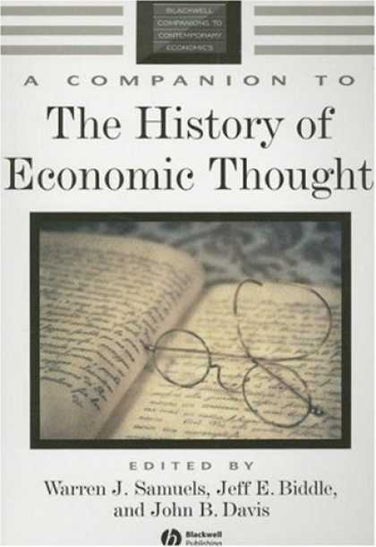 Economics Books - A Companion to the History of Economic Thought (Blackwell Companions to Contempo