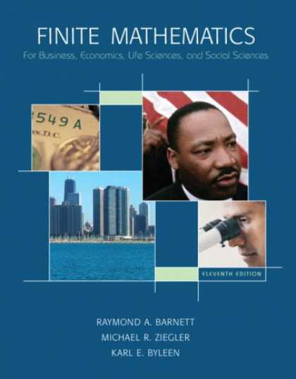 Economics Books - Finite Mathematics for Business, Economics, Life Sciences and Social Sciences Va