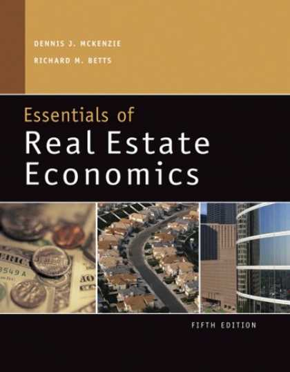 Real Estate Economics : Economics book covers