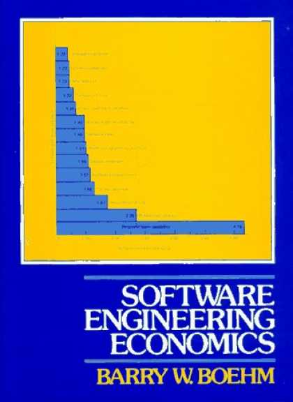 Economics Books - Software Engineering Economics (Prentice-Hall Advances in Computing Science & Te