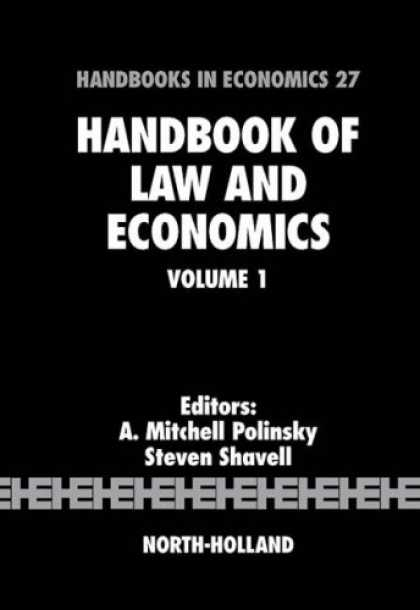 Economics Books - Handbook of Law and Economics, Volume 1 (Handbooks in Economics)
