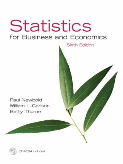 Economics Books - Statistics for Business and Economics