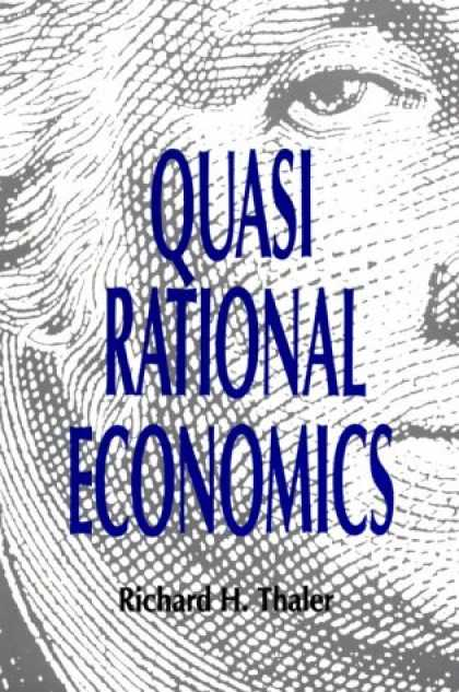 Economics Books - Quasi Rational Economics
