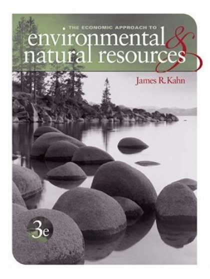 Economics Books - Economic Approach to Environment and Natural Resources (with Printed Access Card