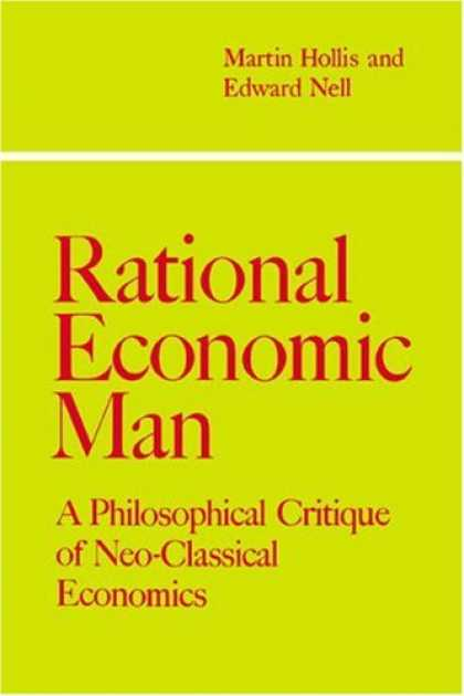 Economics Books - Rational Economic Man