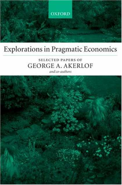 Economics Books - Explorations in Pragmatic Economics