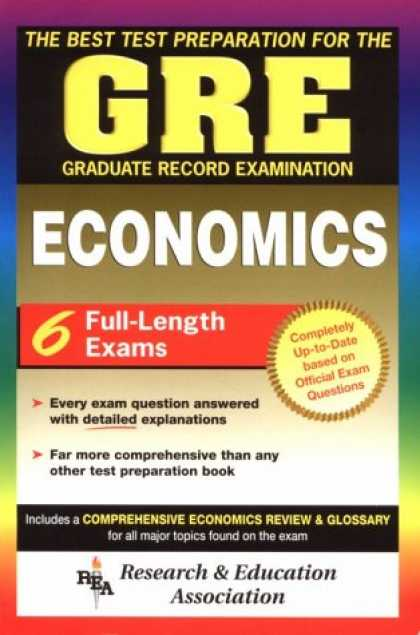 Economics Books - The Best Test Preparation for the GRE Economics Test Preparations)