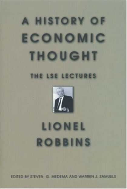 Economics Books - A History of Economic Thought