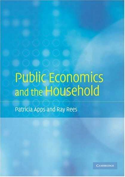 Economics Books - Public Economics and the Household